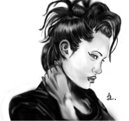 Angelina Jolie by Ledzep
